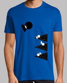 eclipse - t-shirt à manches courtes pour hommes