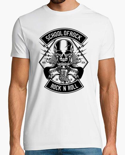 Tee-shirt école de rock