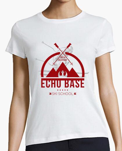 Tee-shirt école de ski