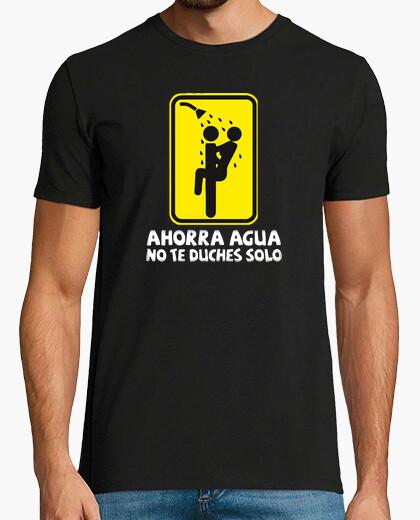 Tee-shirt économise l'eau ne douche seulement