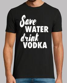économiser de l39eau boire de la vodka
