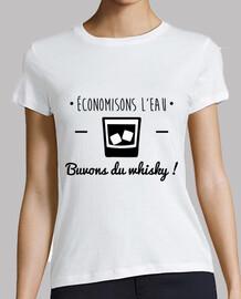 Economisons l'eau, buvons du whisky ! Humour, alcool, drôle