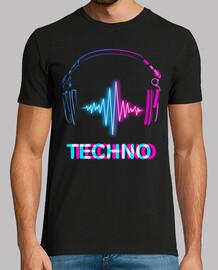 écouteurs techno