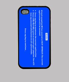 écran bleu