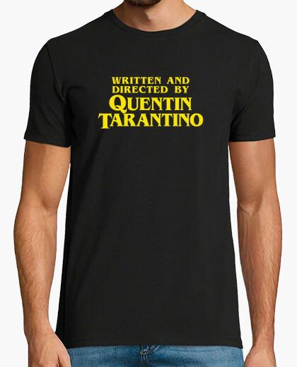 Tee-shirt écrit and réalisé par quentin tarantino