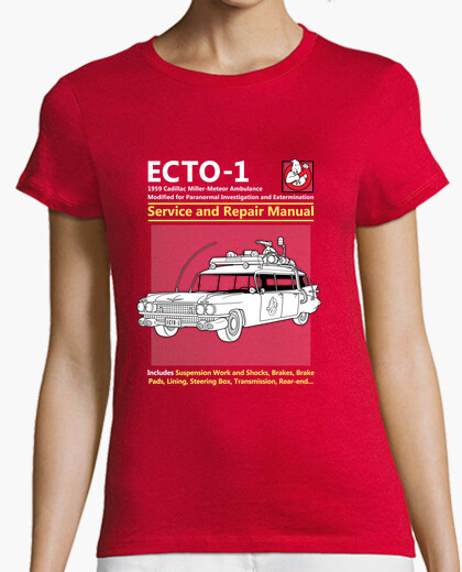 Ecto 1 Car Haynes Service Manual Tee for Men or Women
