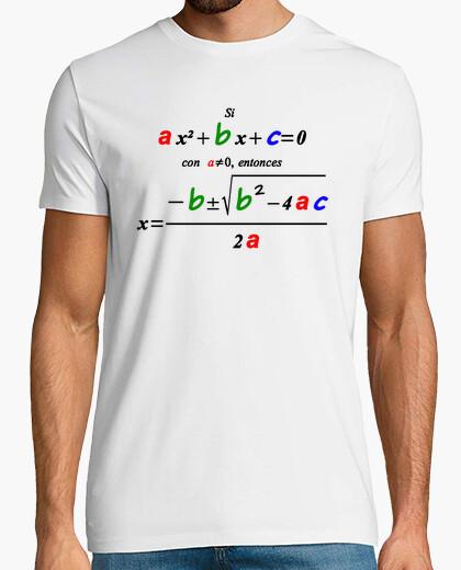Camiseta Ecuación de segundo grado
