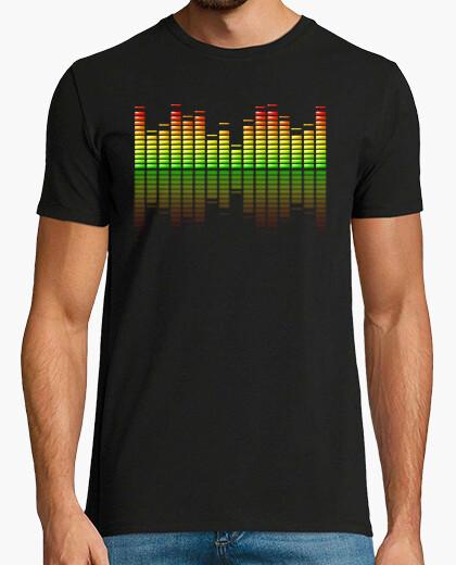 Camiseta Ecualizador Musical
