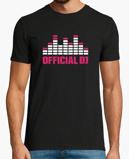 Camiseta ecualizador oficial de dj