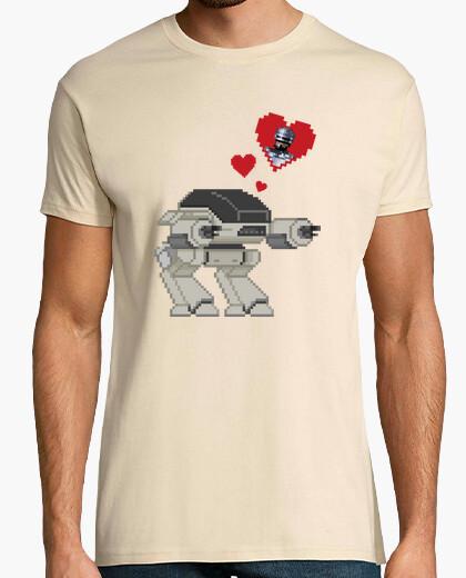 7cdc0ebc3 Ed-209 in love (robocop) T-shirt - 489170 | Tostadora.com