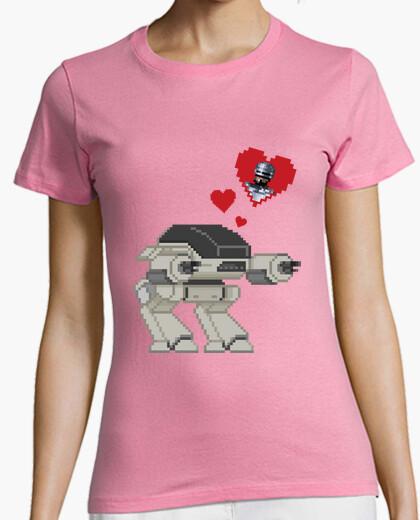 4b356a35f Ed-209 in love (robocop) T-shirt - 489171 | Tostadora.com