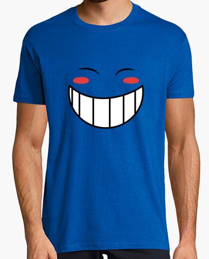 T-shirt ed sorriso per l'uomo