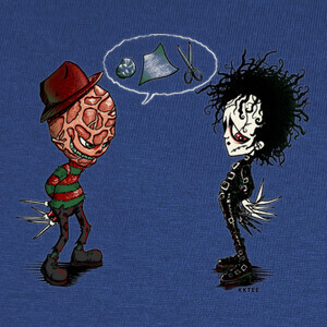 Ed vs Fred - halloween T-shirts
