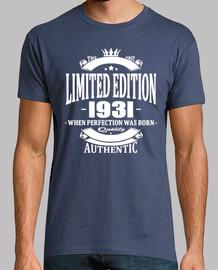 edición limitada 1931