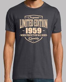 edición limitada 1959