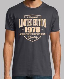 edición limitada 1978
