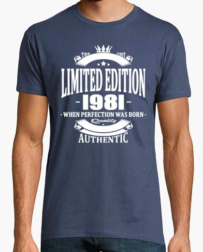 Camiseta edición limitada 1981