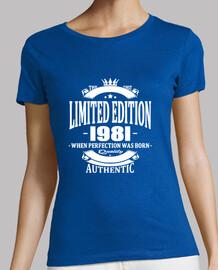 edición limitada 1981