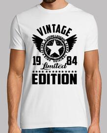 edición limitada 1984 del vintage