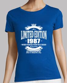 edición limitada 1987