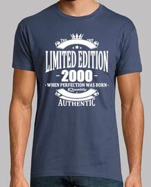 edición limitada 2000