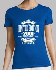edición limitada 2001