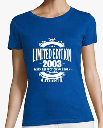 Camiseta edición limitada 2003