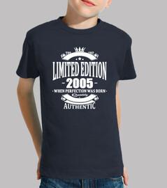 edición limitada 2005