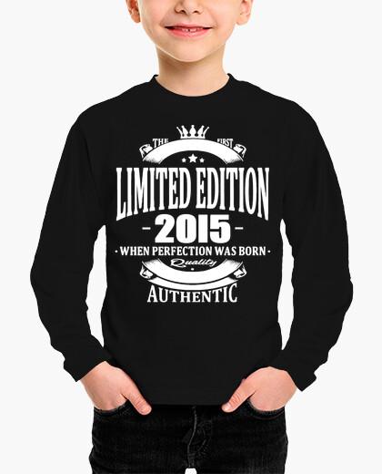 Ropa infantil edición limitada 2015