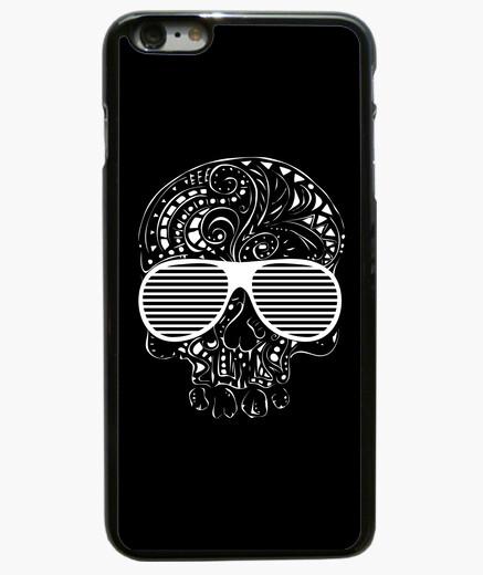 Funda iPhone 6 Plus / 6S Plus edición limitada del estilo del tatuaje tribal gótico del cráneo caso del iphone 6