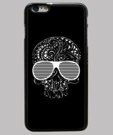 edición limitada del estilo del tatuaje tribal gótico del cráneo caso del iphone 6