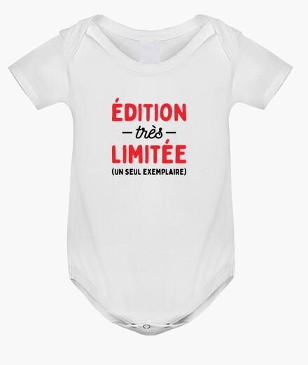 Ropa infantil edición muy limitada del nacimiento del