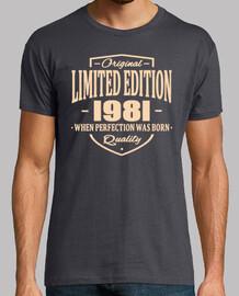 édition limitée 1981
