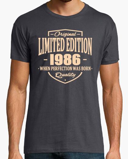Tee-shirt édition limitée 1986