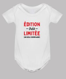 édition très limitée bébé naissance