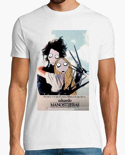 Camiseta EDUARDO MANOSTIJERAS CHICO BLANCA