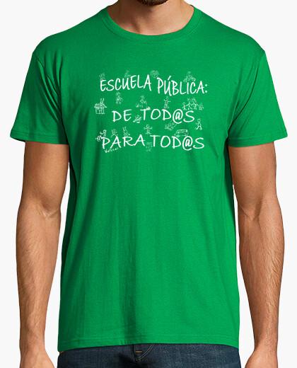 Camiseta Educación pública