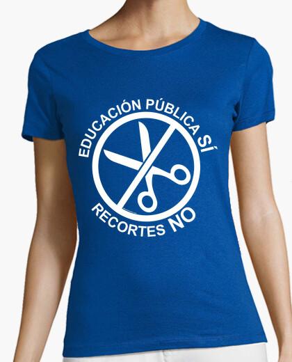 Camiseta Educación Pública SÍ, Recortes NO