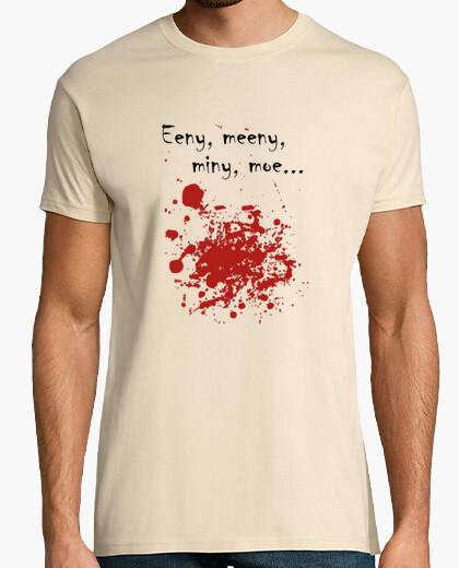 Tee-shirt Eeny meeny - tâches de sang