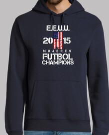 EEUU 2015 Mujeres Futbol Champions