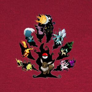 Eeveelutionary Tree T-shirts