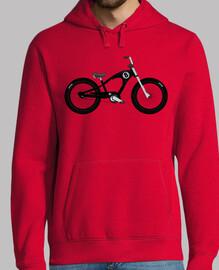 efedefunko © 8Ball Cruiser Bike - Hombre, sudadera, gris grafito
