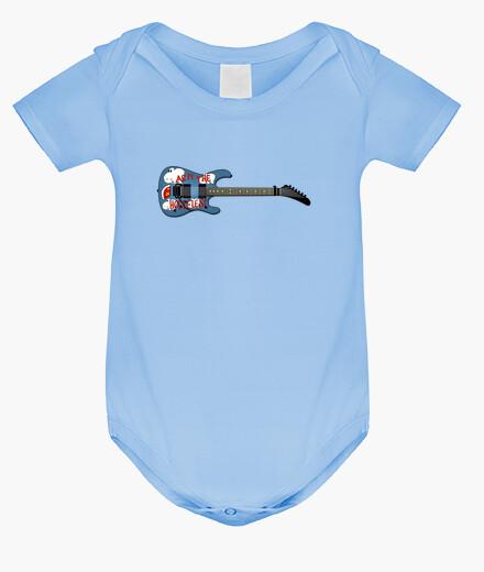 Ropa infantil efedefunko © ArmTheHomeless Guitar , Tom Morello R.A.T.M. - Body bebé, azul cielo
