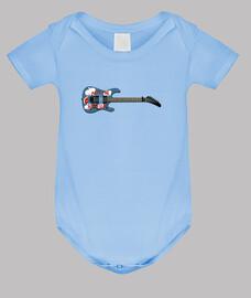 efedefunko © ArmTheHomeless Guitar , Tom Morello R.A.T.M. - Body bebé, azul cielo