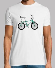 efedefunko © Bicicross BH 1978 Green - Hombre, manga corta, blanco, calidad extra