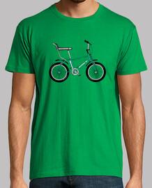 efedefunko © Bicicross BH 1978 Green - Hombre, manga corta, verde pradera, calidad extra