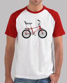 efedefunko © Bicicross BH 1978 Red - Hombre, estilo béisbol, blanca y roja