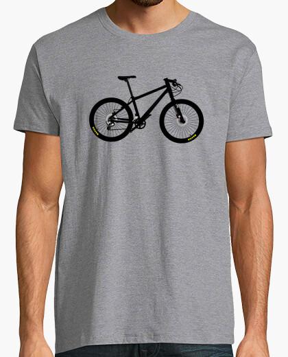 Camiseta efedefunko © Black Cannondale - Hombre, manga corta, gris vigoré, calidad extra
