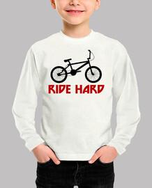 efedefunko © BMX RideHard - Body bebé, blanco