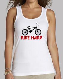efedefunko © BMX RideHard - Mujer, sin mangas, blanca